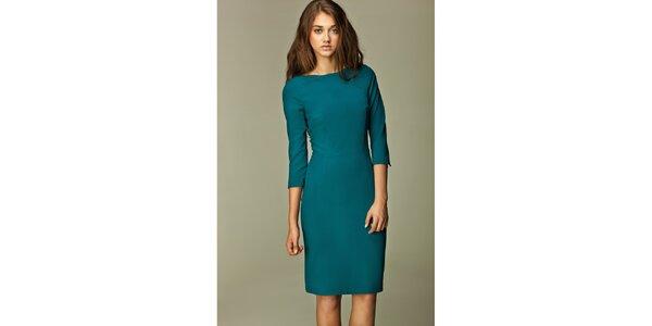 Dámské zelené business šaty Nife