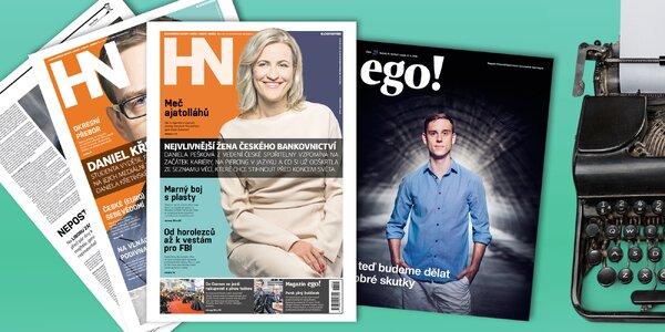 Roční předplatné pátečních Hospodářských novin