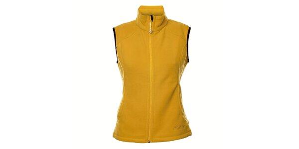 Dámská žlutá fleecová vesta Northland