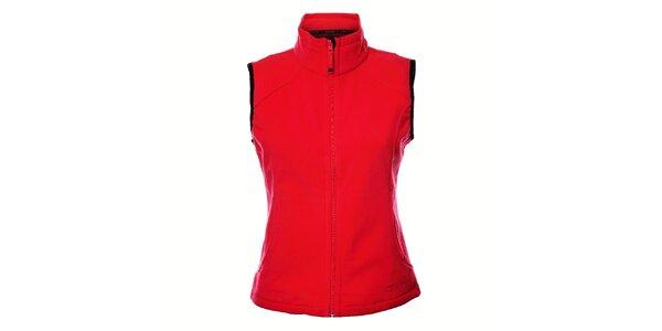 Dámská neonově růžová fleecová vesta Northland