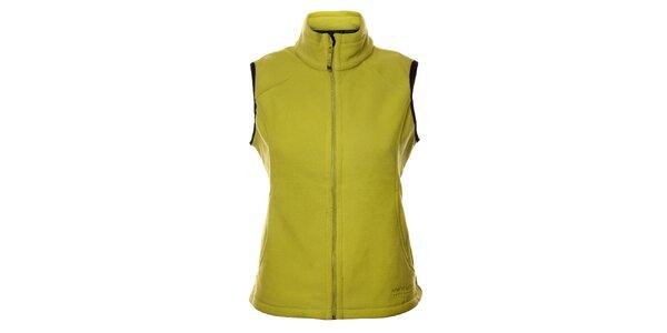 Dámská neonově zelená fleecová vesta Northland