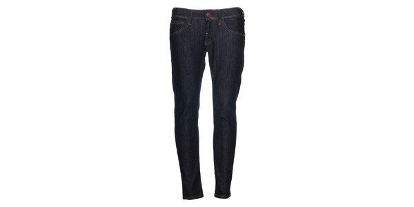Dámské tmavě modré skinny džíny Calvin Klein