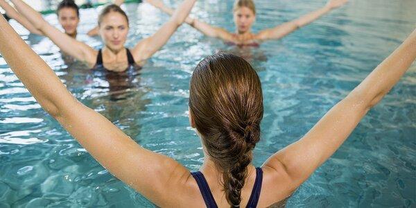 Zdravý Aqua aerobic na Ponávce vhodný pro všechny