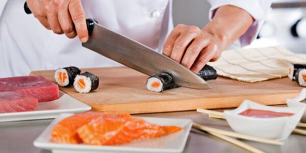 Víkendový pobyt v Kutné Hoře s kurzem sushi