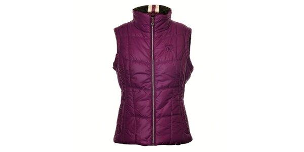 Dámská fialová prošívaná vesta Northland
