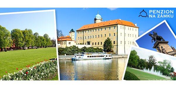 Třídenní pobyt pro DVA na zámku v Poděbradech