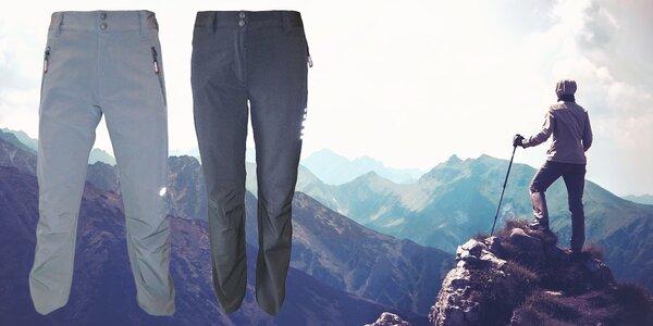 Outdoorové softshellové kalhoty pro volný čas