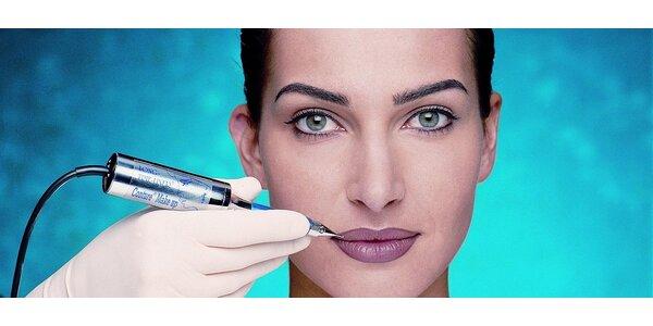 Permanentní make-up dolních očních linek metodou LONG-TIME-LINER