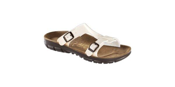 Dámské bílé pantoflíčky Alpro