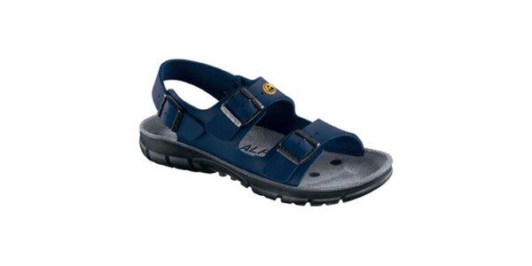 Dámské modré sportovní sandále Alpro