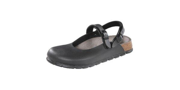Dámské černé zdravotní pantofle Alpro