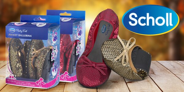 593834552cd8 Scholl Pocket Ballerina  balerínky do kapsy