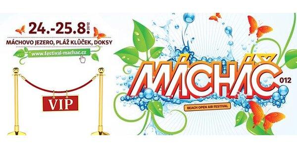 VIP vstupenky na beach open air festival Mácháč!