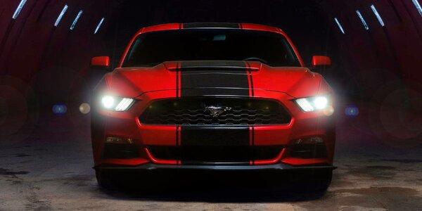 Jízda v upraveném Fordu Mustang 2016 na 24 hodin