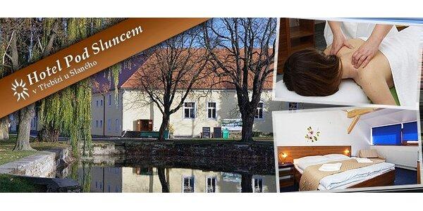 2990 Kč za třídenní wellness pobyt pro DVA v hotelu v Třebízi u Slaného!