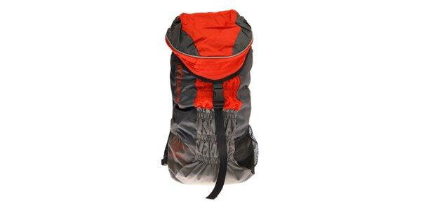 Červeno-šedý sportovní batoh Northland