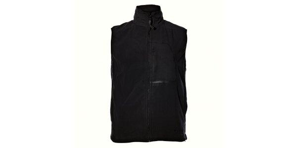 Pánská černá fleecová vesta Northland