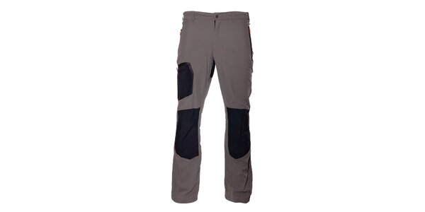 Pánské světle šedé sportovní kalhoty Northland