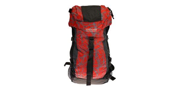 Červeno-černý sportovní batoh Northland