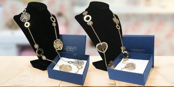Nádherné dlouhé náhrdelníky v dárkové krabičce