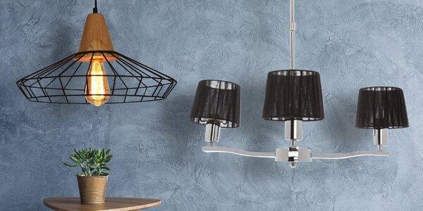 Originální lustry nebo stojací lampa