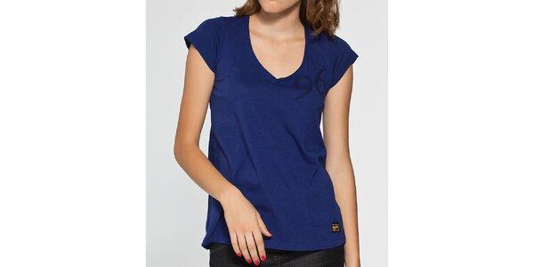 Dámské tmavě modré tričko G-Star Raw