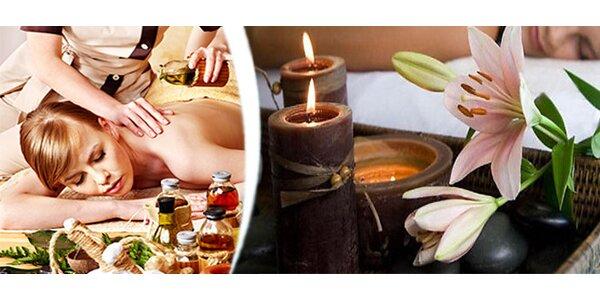 Thajská olejová masáž – celého těla v délce 60 minut