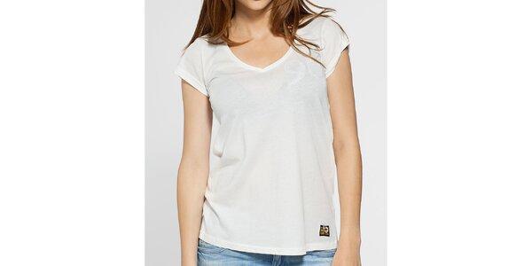 Dámské bílé tričko G-Star Raw