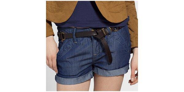 Dámské tmavě modré džínové šortky G-Star Raw
