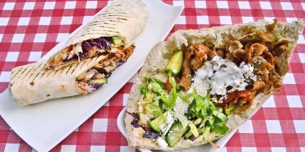 Klasik kebab dle výběru: durum nebo döner