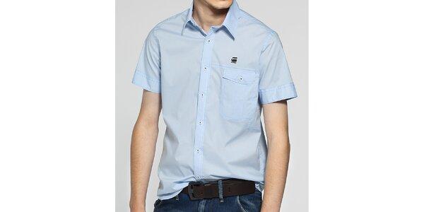 Pánská bledě modrá košile G-Star Raw