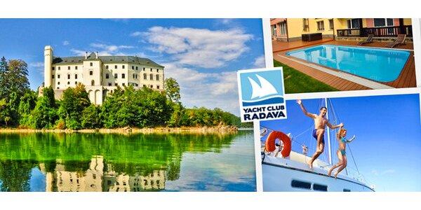 Relax v Yacht Clubu na Orlíku včetně wellness