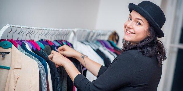 Třídění šatníku a konzultace se stylistkou