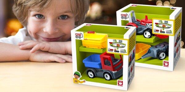 Autíčka pro Igráčka: traktor i popelářský vůz
