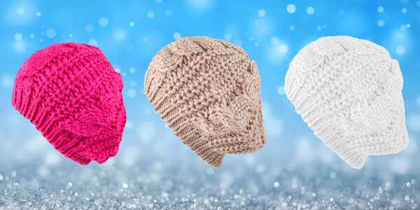 Barevné barety do chladných dnů  7 barev 471c5ac01e