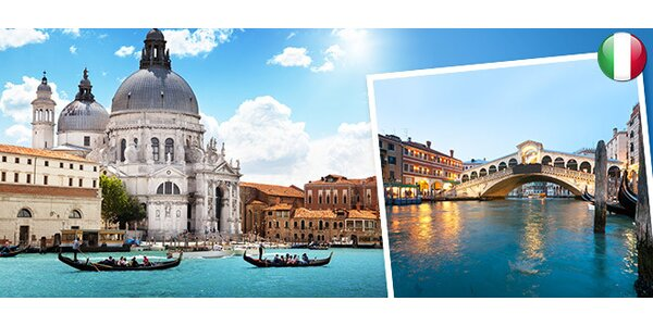 4denní zájezd do Benátek s koupáním v moři