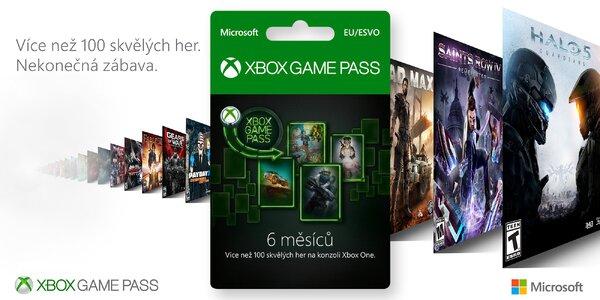 6měsíční Game Pass na Xbox a PC: sleva 500 Kč