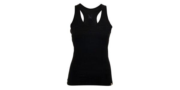 Černý dámský top YU Feelwear