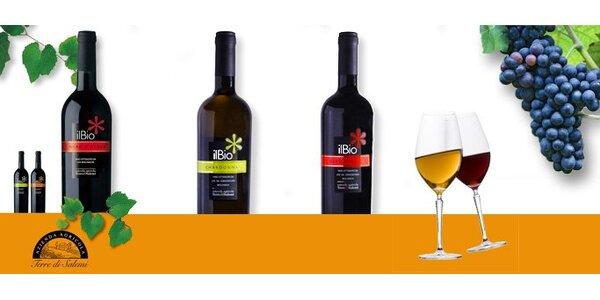 449 Kč za DVĚ výtečná bio vína ze slunné Sicílie