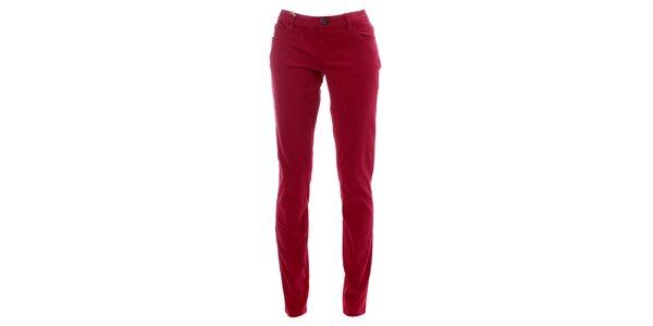 Dámské malinové kalhoty Lee Cooper