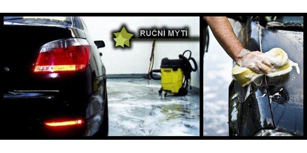 198 Kč za voucher na ruční mytí vašeho auta v hodnotě 534 Kč.