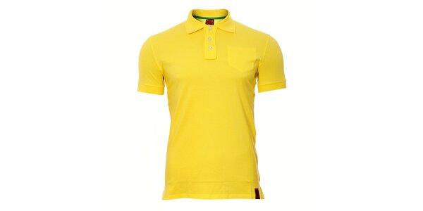 Pánské žluté polo SixValves
