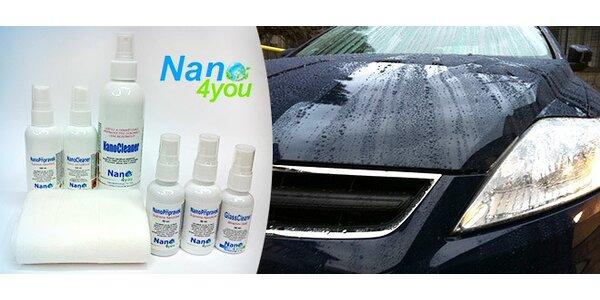 Bohatý set nanopřípravků na ochranu auta