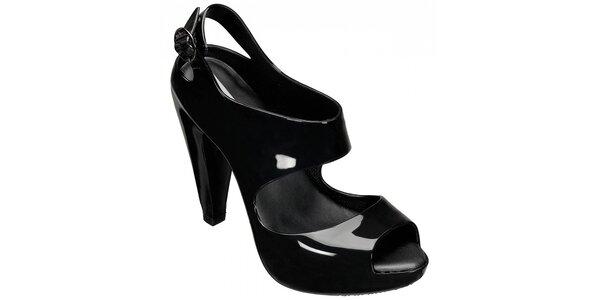 Dámské černé sandály Melissa