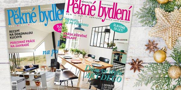 Předplatné časopisu Pěkné bydlení na rok 2019