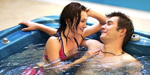 Privátní wellness s vířivkou a saunou až pro 4