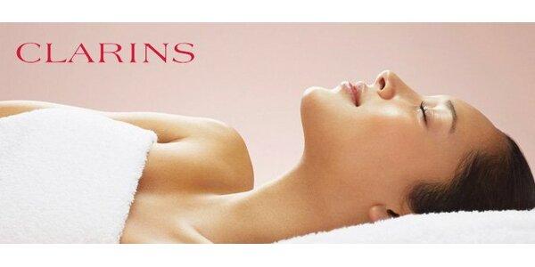 725 Kč za luxusní 75minutové ošetření pleti francouzskou kosmetikou Clarins