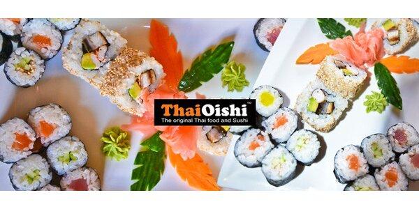 Sushi s sebou (28 ks) z restaurace Thai Oishi