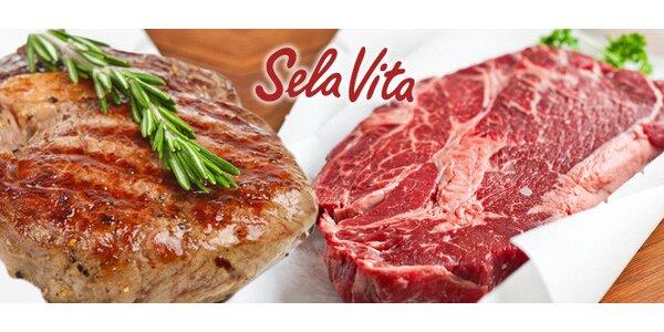 Hovězí rib eye steaky z Uruguaye