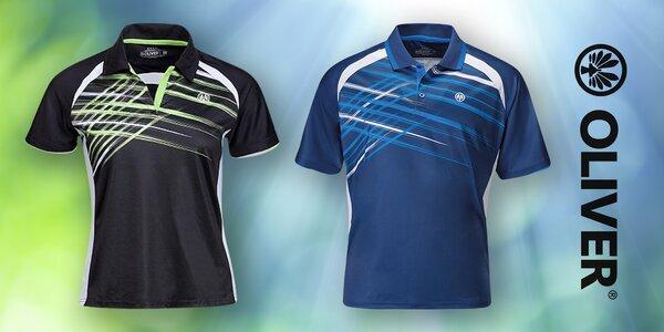 2231e727d68 Sportovní funkční tričko Oliver s límečkem